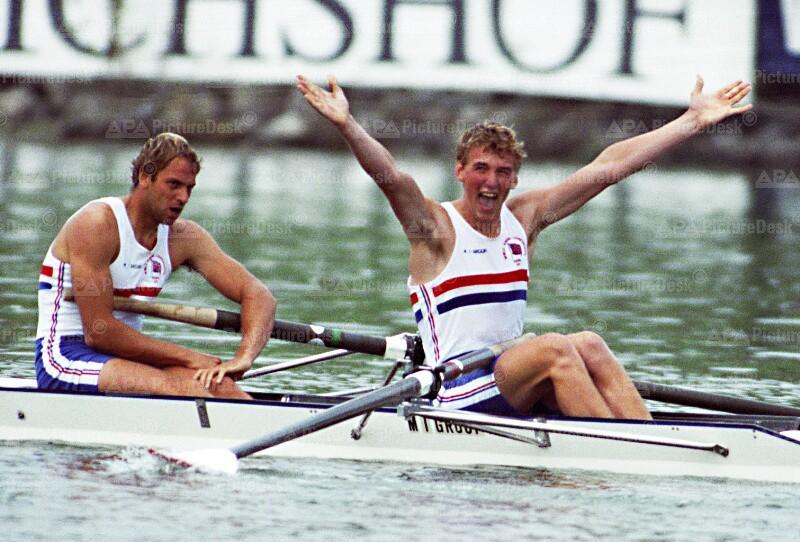 Ruder WM 1991 - Redgrave und Pinset holen sich Gold (GB)