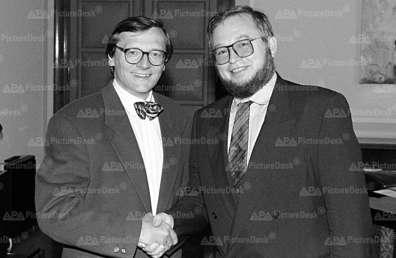 Wolfgang Schüssel und Andrej Ocwirk