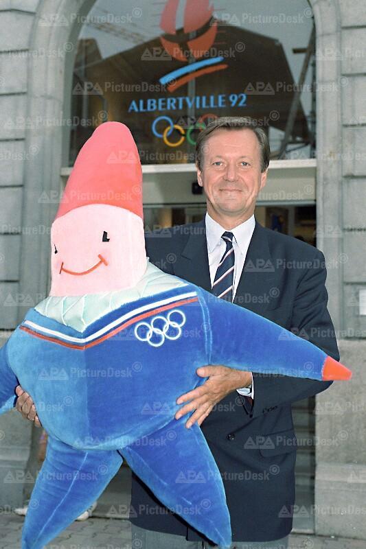 Olympia 1992 - Organisationskomitee in Albertville - Wallner