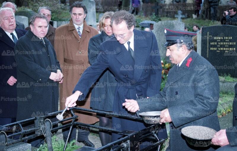 Begräbnis von Ernst Happel 1992