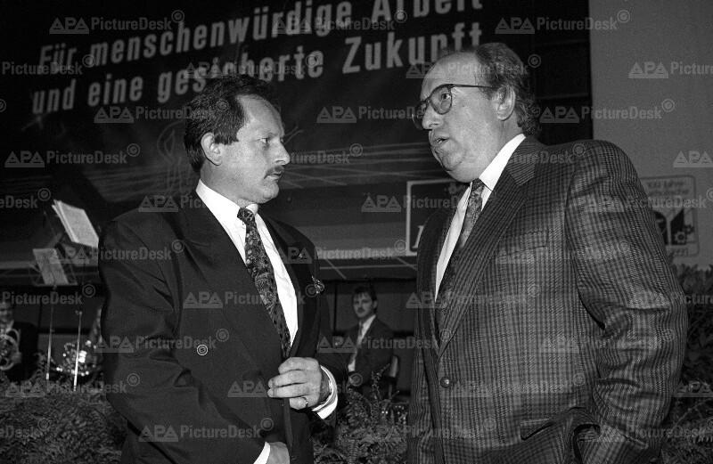 Alfred Schöls und Fritz Neugebauer