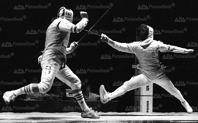 Europäische Fechtmeisterschaft 1991 - Luwig gegen Busa