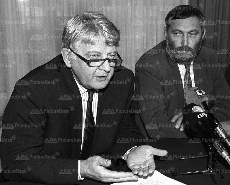 Franz Fischler und Piet Bukman