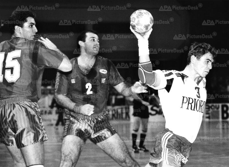 Handball-Europacup der Landesmeister 1991 - Barcelona vs. UHK Wien