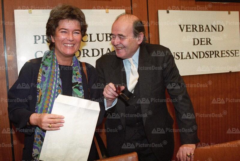österreichische Nationalbibliothek Heide Schmidt Und Georg Mautner