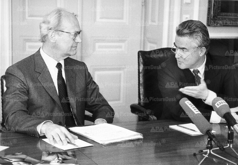 Heinz Kessler und Franz Ceska