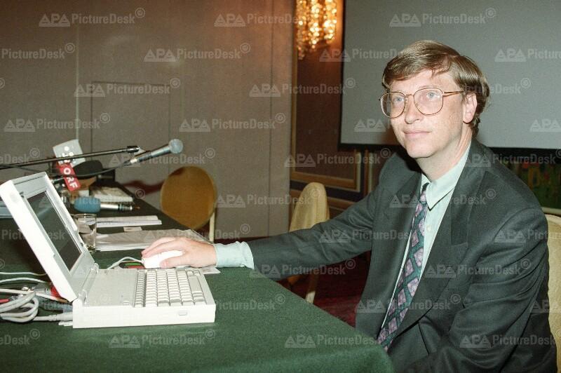 Bill Gates in Wien