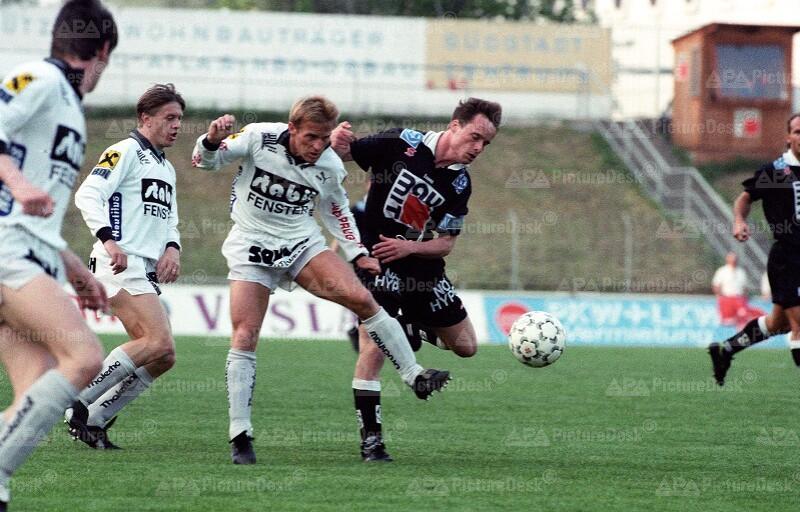Admira vs Sturm Graz 1993 - Walter Hörmann und Olaf Marschall