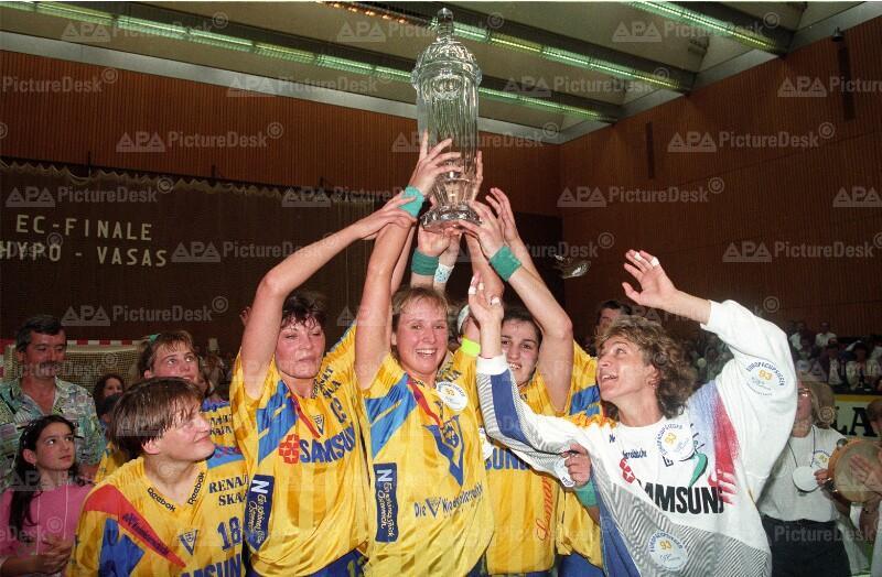 Handball Europacup - Hypo Südstadt gewinnt Cup