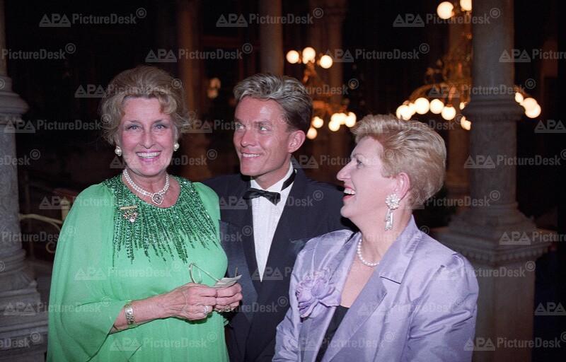 Concordia Ball 1993:  Lotte Tobisch, Alfons Haider und Maria Rauch-Kallat
