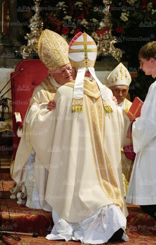 Bischofsweihe von Heinrich Fasching