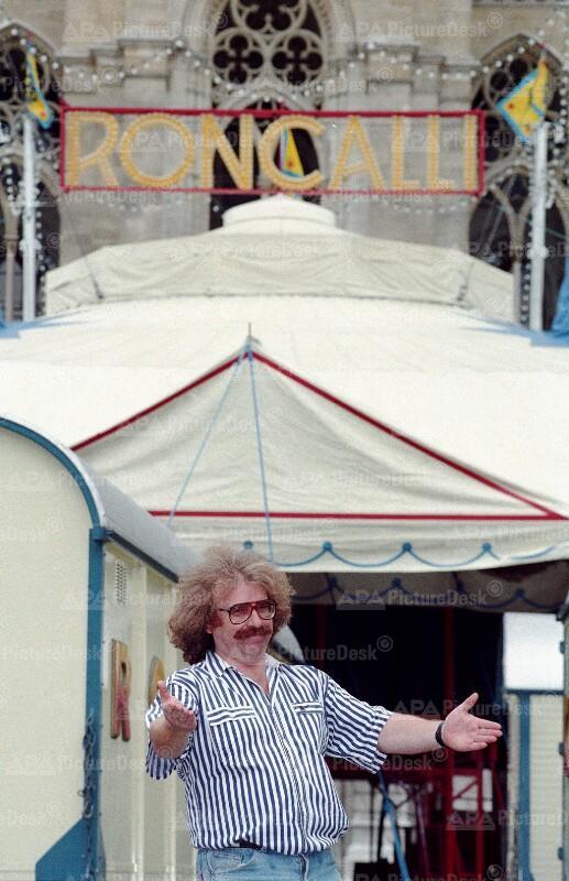 Bernhard Paul, Direktor des Zirkus Roncalli