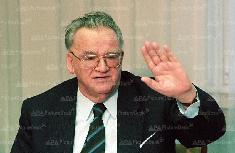 Atomic Konkurs 1994 – BAWAG-Generaldirektor Walter Flöttl