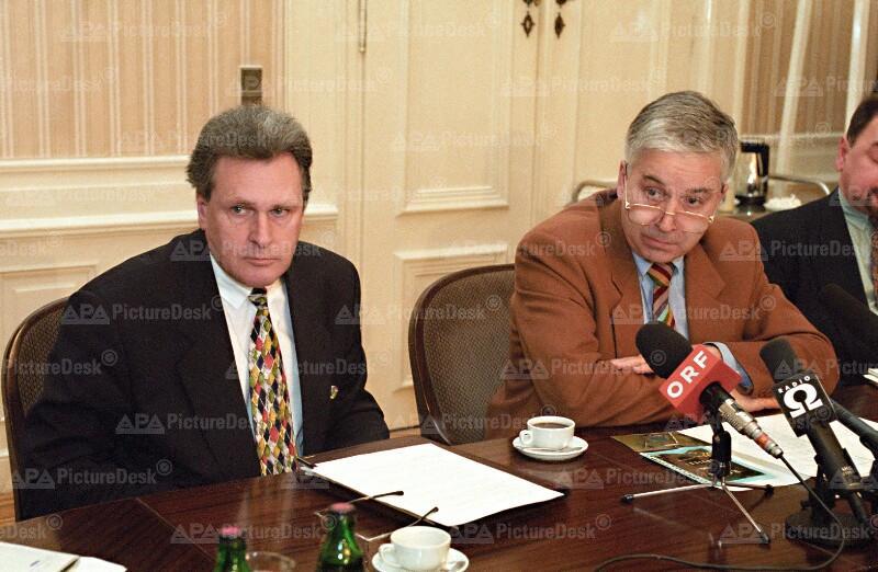 Bombenanschlag in Oberwart 1995 - Franz Löschnak und Michael Sika