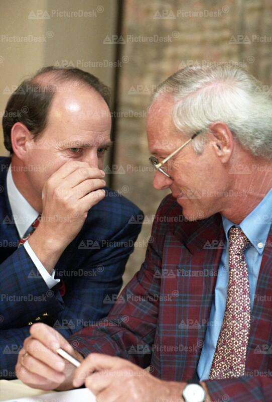 Arbeiterkammer Wahlen 1994 – Heinz Vogler und Josef Cerny