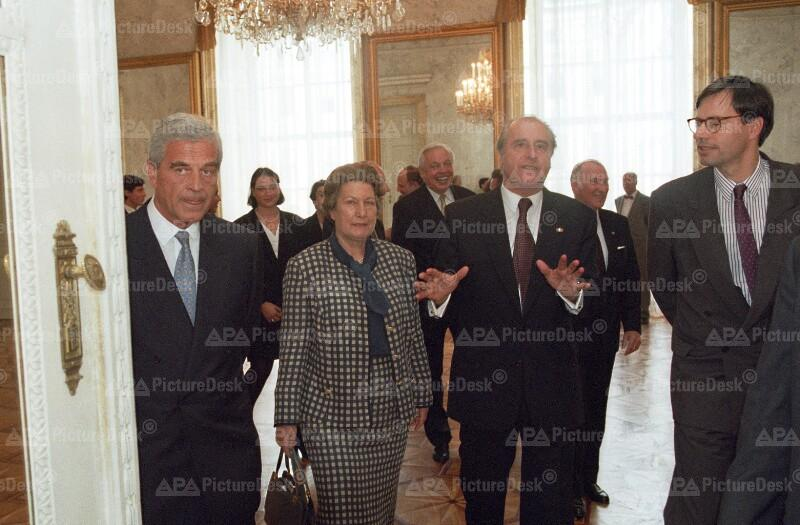 Angelobung von Klaus Liebscher als neuer ÖNB Präsident