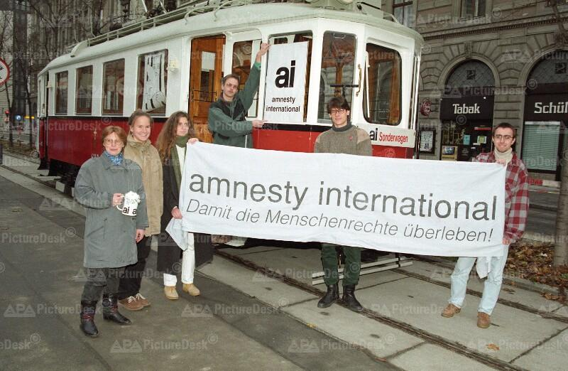 Amnesty International Aktion in Wien 1995