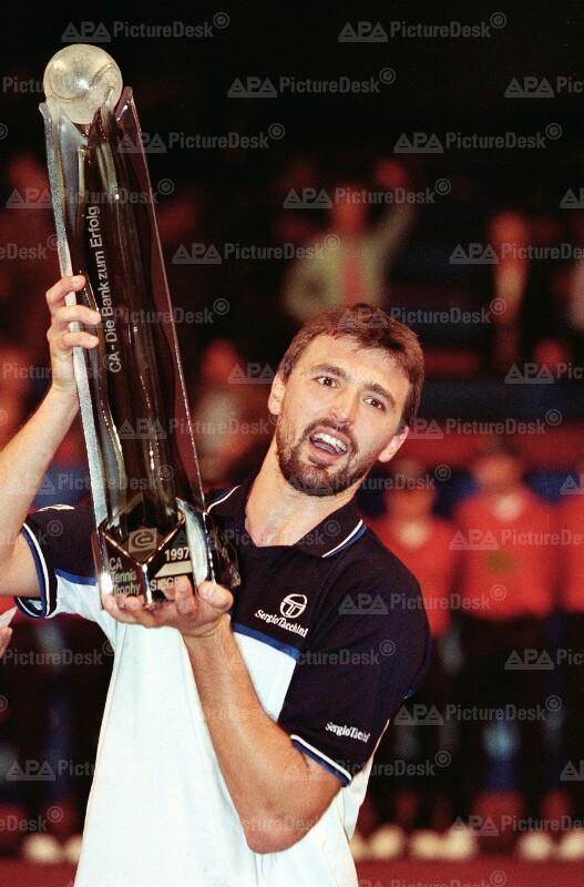 Goran Ivanisevic bei CA Tennis Trophy 1997 in Wien