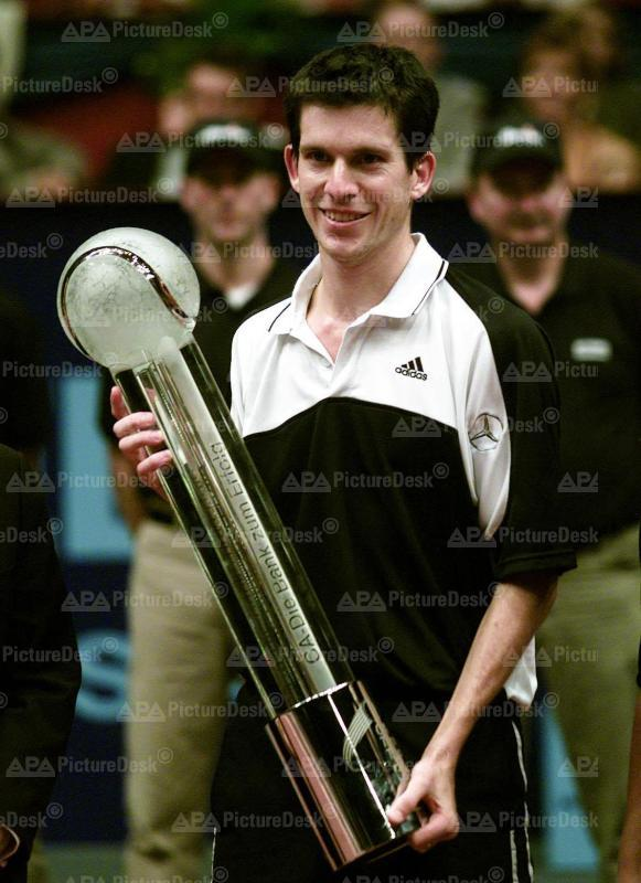 Tim Henman bei CA Tennis Trophy 2000 in Wien