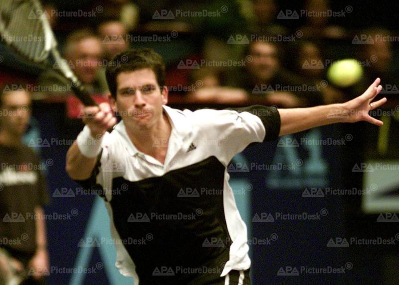 Tim Henman bei der CA-Tennis Trophy 2000 in Wien