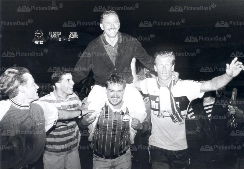 Austria Wien ist Fußballmeister 1992