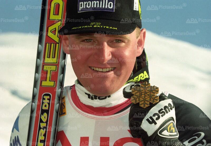 Abfahrts-Goldmedaille für Patrick Ortlieb