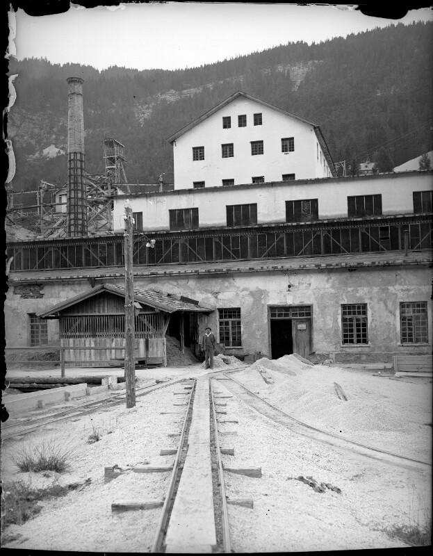 Rudolfschachtanlage in Bleiberg
