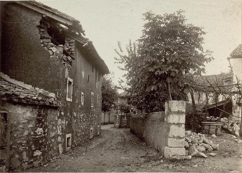 Strasse in Opatje Selo (Oppacchiasella)