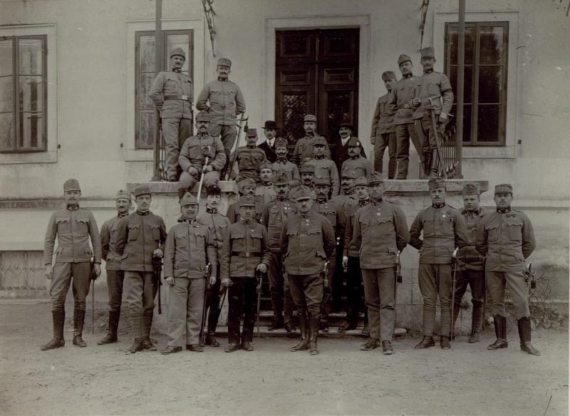 Unteroffiziersmesse des 5. Armeekommandos, Generalstabsabteilung.