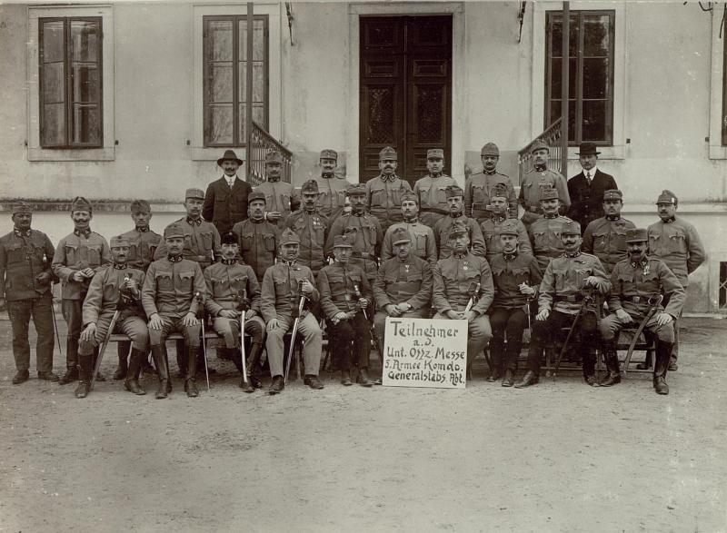 Unter-Offiziersmesse des 5. A. K. Generalstabs Abteilung.