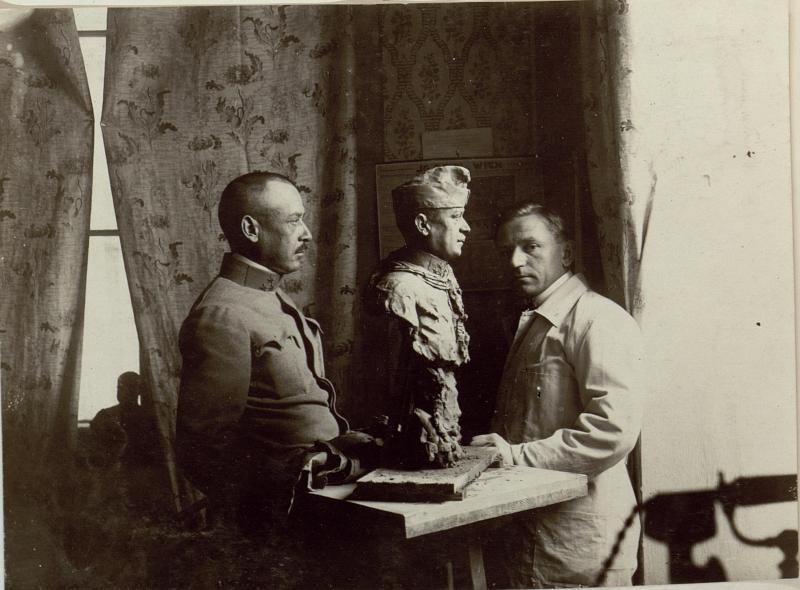 Rittmeister (Hauptmann) Nikolaus Freiherr von Dittfurth, persönlicher Adjutant des Feldmarschalls Boroevic
