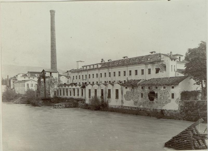 Spinnereifabrik in Podgora bei Görz