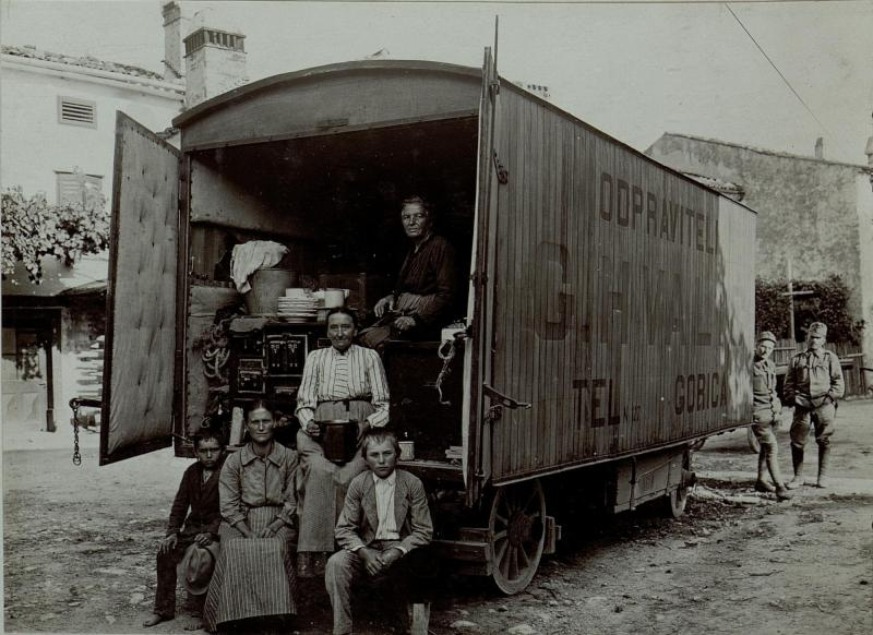 Flüchtlinge aus Gorizia (Görz)