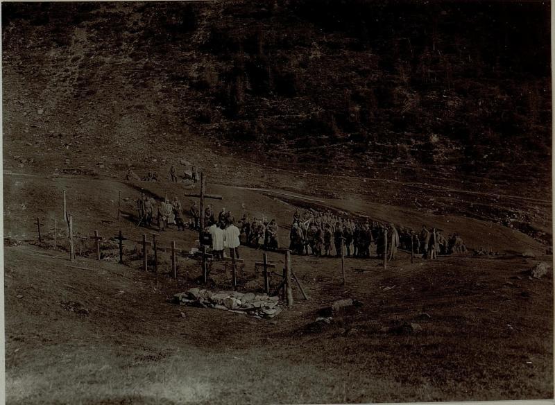 Das Lager bei Malga Strino