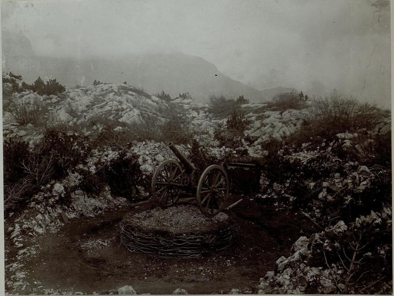 Abwehrkanone bei Aldeno
