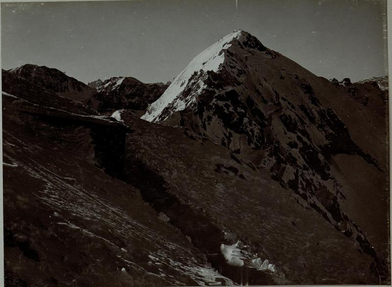 Allochet Rizoni, aufgenommen vom Wege le Lille Allochet, 28. November 1915