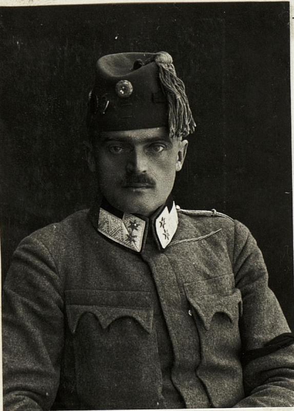 Oberstleutnant Emil Vidale. (Kmdt. d. Baon V/bh.1.) Ulanen-Regiment Nr. 13