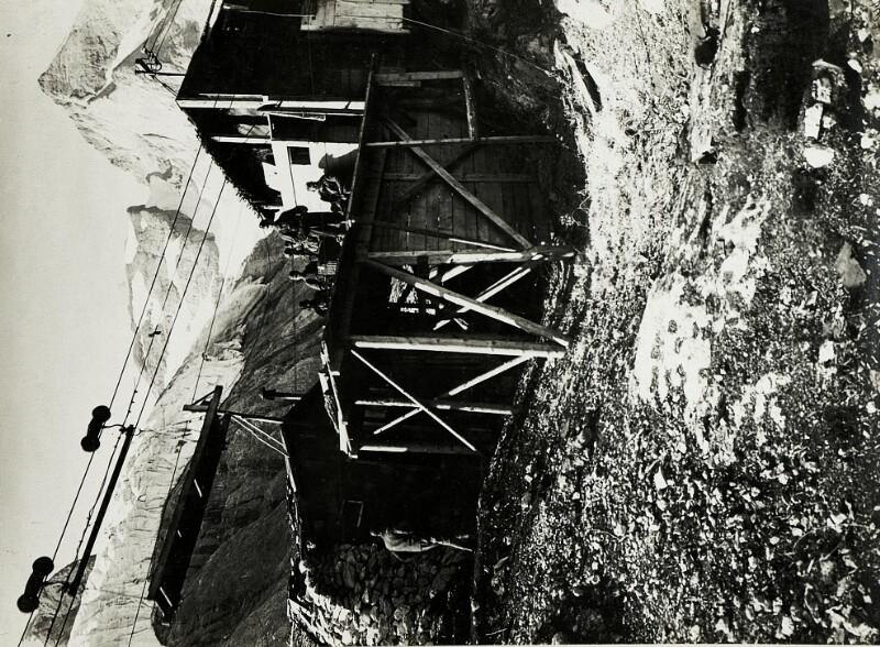 Drahtseilbahnstation: Gran Poz - Col de Bous.