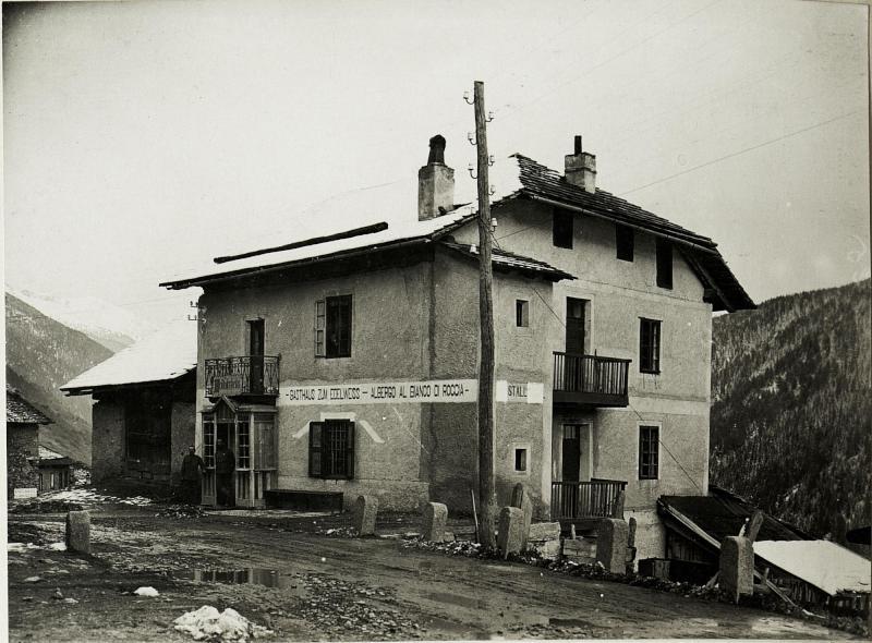 Vermiglio: Soldatenheim,  Abschnittskommando II
