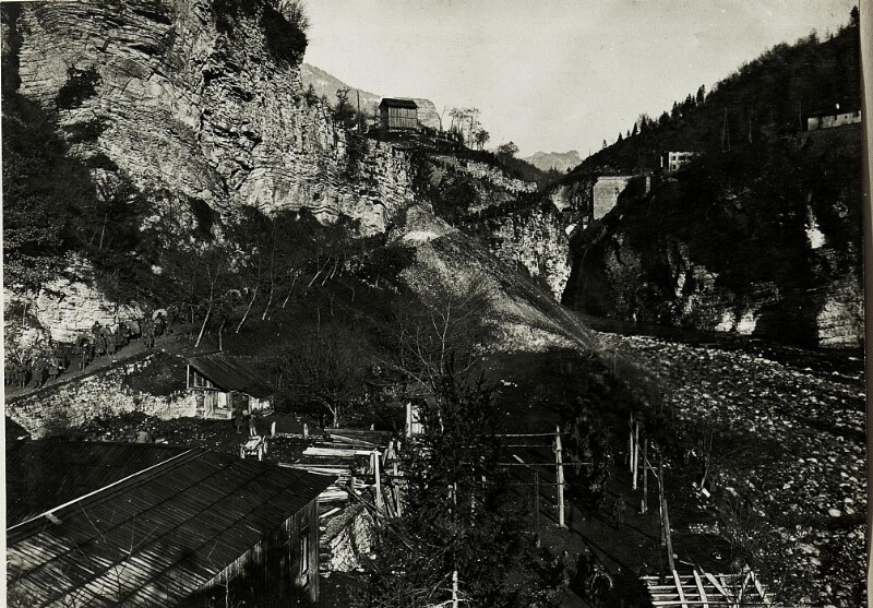 Abstieg  bei Ponte della Sera.