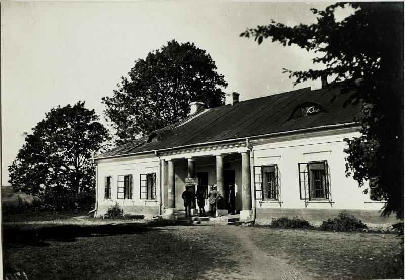 Schloss Tomaszowce. (Gen.Kmmdo.X.Res.Korps.)