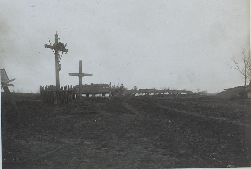 An der Wegkreuzung in Chatki (Sokolow)