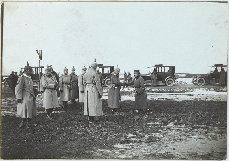 Abschied Wilhelms II. von der 38. Honvedinfanteriedivision