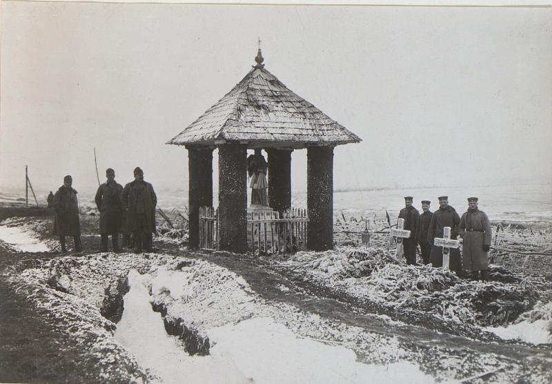Bildstock beim M.H.Siemikowce an der Strypa