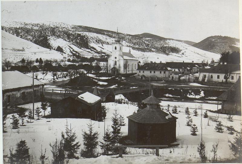 Also-Verecke,Kirche und Meierhof
