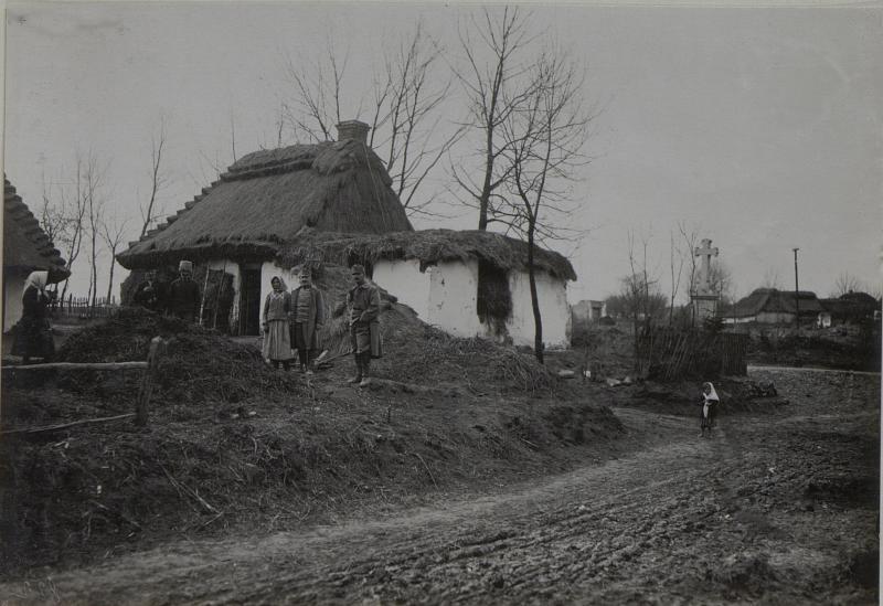 Bauernhaus bei Zborow