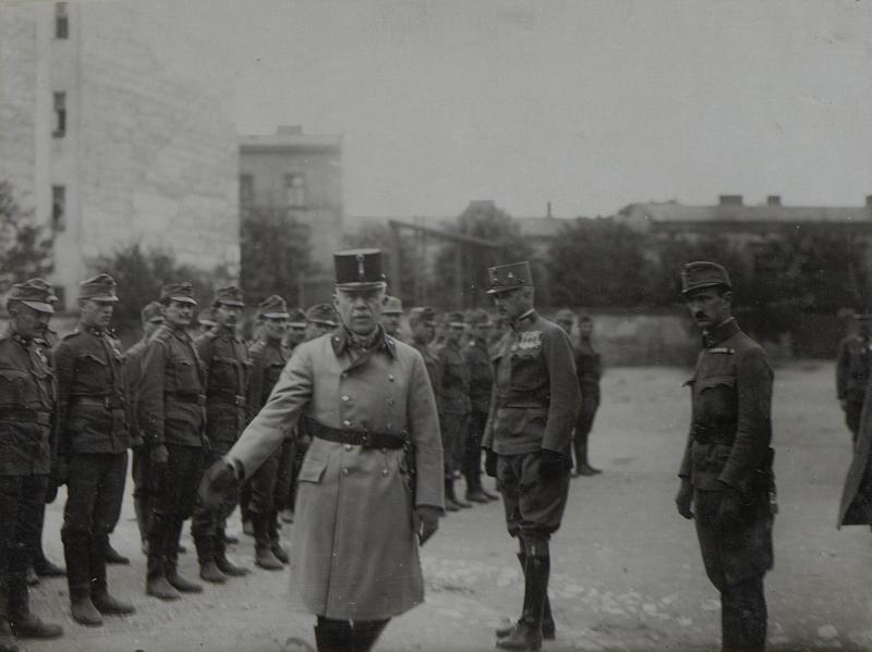 Ansprache von Feldmarschallleutnant von Boog an die Truppen der 25.Infanterie-Truppen-Division