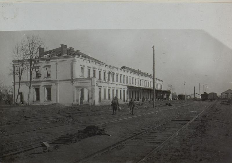 Bahnhof Brody.