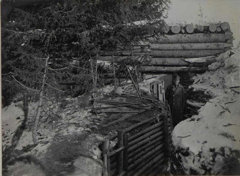 Blockhaus in der Stellung auf Cimbroslawa vielka.