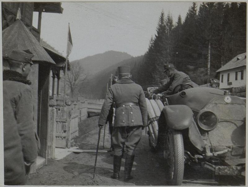 Ankunft des GM.von Puchalski in Jakobeny